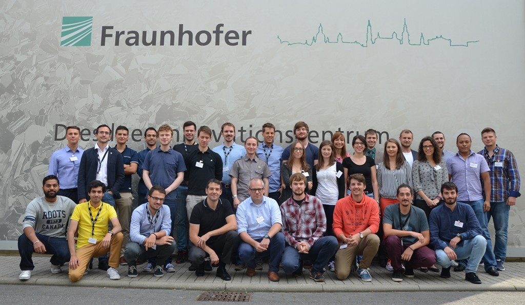 Participants of the Summer school 2016 in Dresden (Germany)