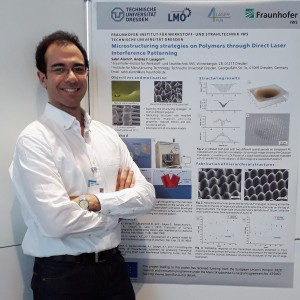 Sabri Alamri at the 5th MCCA General Assembly of the Marie-Curie Fellows at the University of Leuven, Belgium (Feb. 2-3, 2018)