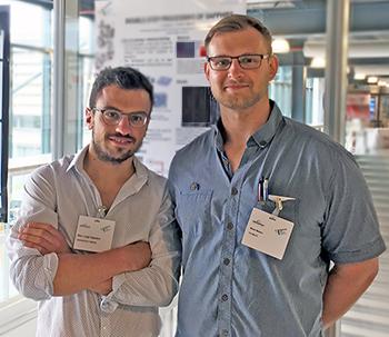 Luigi Capuano (left) and Marek Mezera at the Photonics Event 2018.